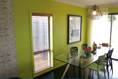 Modern Green DIning Room Top Design FInale