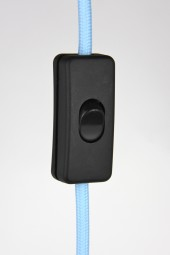 in line cord on/off switch. black.