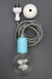 """New modern dandy electrical cloth cord pendant"" – Oscar Wilde"