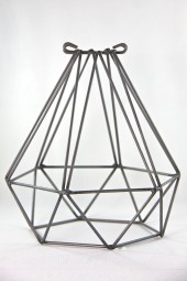 Light Bulb Cage- Diamond.