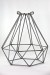 Coloured Wire Cage Pendant Light_0469