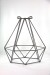Coloured Wire Cage Pendant Light_0471