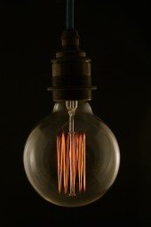 (i) Edison Bulb, airship style, screw in pk 1.