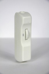 In line cord dimmer white .