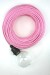 Coloured Cloth Electrical Cord Pendant Fabric Flex Lighting_1369