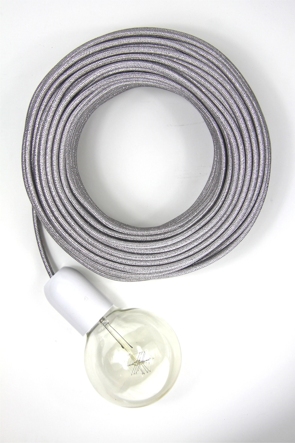 Silver Electrical Cable : Empirical style vintage interiors design