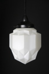 Art Deco Modern Pendant Black