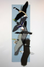 Hand made mobiles – Birds of the water.