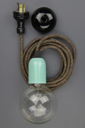 """New modern dandy electrical cloth cord pendant"" – Sebastian horsley"
