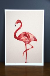 Studio Print: Flamingo