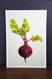 Studio Print: Beetroot