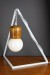 Empirical Style Geometric Light Stand Bedside Lamp Pendant Light_9399