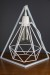 Empirical Style Geometric Light Stand Bedside Lamp Pendant Light_9414
