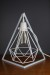 Empirical Style Geometric Light Stand Bedside Lamp Pendant Light_9415