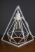 Empirical Style Geometric Light Stand Bedside Lamp Pendant Light_9416