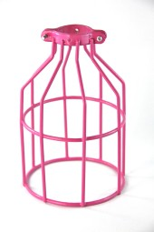 Light Bulb Cage. Customised colour.
