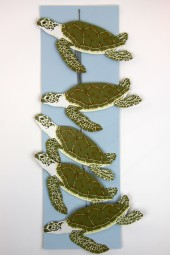 hand made mobiles – Turtles