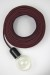 Empirical Style Cloth Cord Flex Electrical Cable_5689
