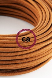 Fabric Cloth Electrical Cord x1m. Deer cotton round